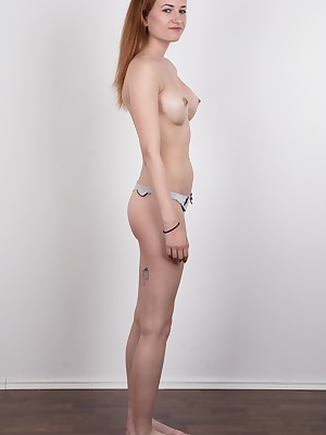 Amazing!!! An unbelievable casting! We have a fantastic catch for you today! Let us introduce Lucie, beautiful 18 years old amateur and former street dance world champion. Our jaws dropped when she got naked. This amazing redhead has the body of goddess.