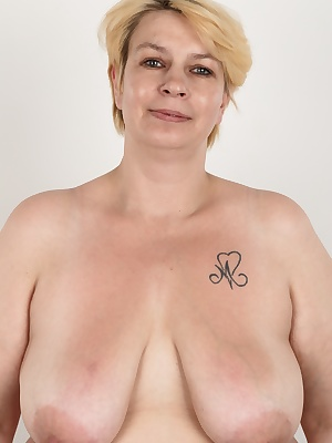This is a proper woman! Mature mother Mirka will get you down to your knees. If you fancy chubby moms, she is exactly what you are looking for. Huge tits, huge ass and gig wet pussy. The blonde threw all her clothes away after the shocking interview and s