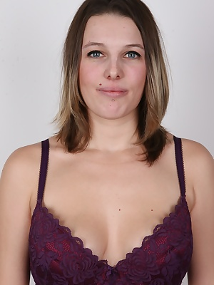 The latest girl straight from the Czech streets is an ideal fuck toy for you. Liliana is pretty, her tits perfectly fit in your hand, her body is decent and she is horny as fuck. Give a hard cock to her and she will be grateful for ever. She likes...