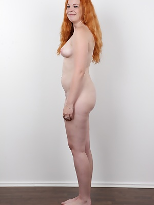 Do you want a redhead? Young, pretty and horny? Then you can have Tereza, 20 years old Czech amateur. And it will be an easy one. This girl is horny as hell, so horny she would fuck just anyone. All our cameraman had to do was touch her and she...