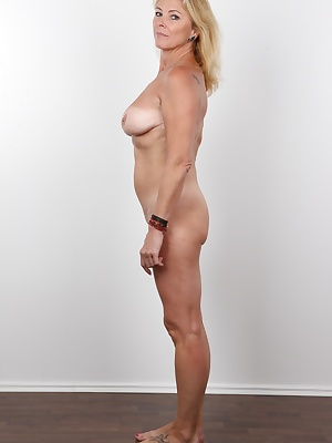 Do you want to feel pure passion and excitement? Then take a look at this casting!!! Your dick will experience the hottest mature woman we have had in here. You won't believe this luxurious busty chick is 52 years old! Never! Take a look at the beaut