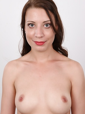 Tereza ain't another Czech amateur. Looking elegant, talking cultivated, interested in bondage and fetish. I believe she qualifies as a class A whore. After first glance she seems almost unreachable. Juts pull on her gigantic pussy lips a whore will