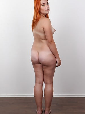 It all started so innocent. Redhead Tereza didn't want to show a hair of her young sweet pussy. But the dream of becoming a model has a sweet taste and it's hard to resist. Tereza might be young but her tits matured into beautiful C cups already