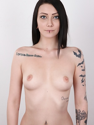 This Czech amateur will get you on your knees! Danika is pure beauty, extravagance mixed with natural beauty. Dark haired Danika is like a witch that can charm any man. Seductive eyes, body perfect from every angle, covered in tattoos and pussy like a sof