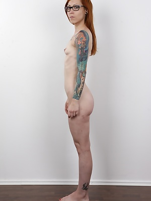 Rebellious Sandra knows how to party wild. If you keep the booze running, the moral dilemmas will keep disappearing and in the end Sandra will fuck anything that moves. Guys, girls, she will even hump your leg. Tattooed redhead is one proper whore and we