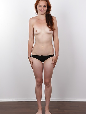 Klara has been single for a long time. As soon as she was blindfolded and held a cock in her hand, this decent mother turned into a horny slut with wet pussy. Who would believe such a change?! This lovely ginger came for her first casting and let a strang