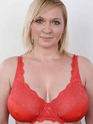 Do you want to see this mom of two turning into a whore within minutes? Check out this spectacular Czech casting. Jana's enormous jugs will catch your attention firmly. Purely natural material. She has a thing for romantic stuff and had only 3 cocks
