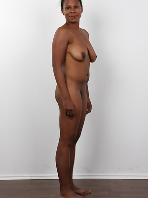 Take it easy, guys! This chocolate busty babe is a genuine Czech! Her dad is African-American but her mom is 100% Czech. It must have been quite a wild party. Monika is nice, cheerful and lesbian! She has given up fucking guys and she specializes in geoca