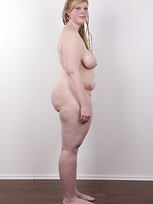 This girl makes the mind boggle! She's not likely to be overlooked! It's next to impossible pass her unnoticed when she walks down the street! A fat blonde with huge jugs and a massive ass. She's a master of oral magic! Dudes, the chubby tr