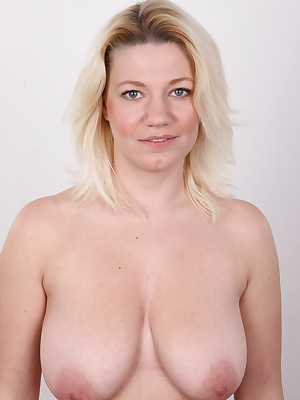 Katerina has a thing for vibrators and other sex toys. No wonder  she is extremely passionate. When there is no hard cock around, she can be independent and help herself. This busty miracle loves to eat out pussies! She loves everything! She boasted she c