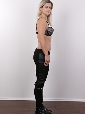 Ester rocks. Her body is nice and firm. A blond university student who earns her living as a dancer, a model and an erotic actress doesn't like to waste any time. She's here to get screwed on camera. Get fucked doggy-style and with no mercy. Est