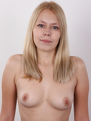 This is the only place on the Internet you can see 100% amateurs. Real chicks from the street who crave for fame, money and luxury. Pavla, a lovely blonde, is an example that speaks for all of them. A little chick with tiny, perky boobs, a juicy ass and e