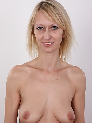 Get ready for an ice cold shower! You'll need it after seeing this casting! Getting your head around this episode is a hard nut! This MILF is the dirtiest slut ever! A calm Friday evening with her partner? She adores pissing on him, screws him with a