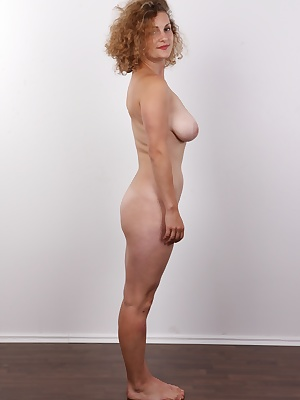 Have you ever experienced a heavenly blowjob? I swear you can get to paradise through the mouth of this curly chick. It's incredible how good Adela is at giving head. She nearly sucked our photographer to oblivion. The poor guy hasn't put his sh