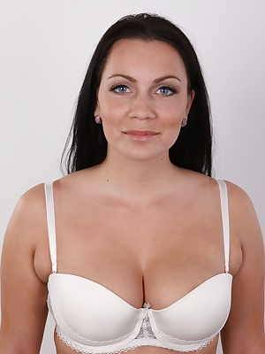 She entered the door as a self-confident business woman and left as a slut with spunk on her face. Another Czech wannabe photo model that is willing to do anything? I wouldn't say so. Zaneta doesn't need all this humbug. She's a successful,