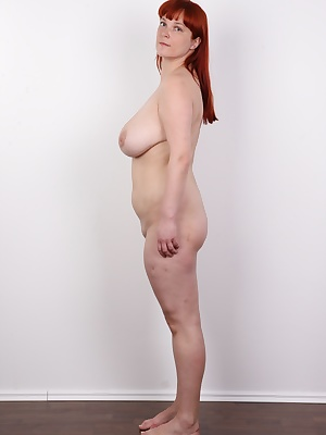 This chick is no Maya the Honey Bee, she couldn't ever take off with tits like this. Let us introduce you Maja, a 33-year-old ginger-head from Slovakia endowed with enormous bumpers! Maja is recently unemployed and she's trying to make the ends