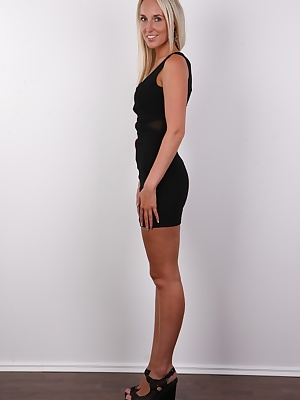 Let me introduce you Radka, the latest star of Czechcasting. What do you think of her? She's and elegant and sexy chick. This splendid blondie is going through a complicated divorce. Her love for shagging brought her to a decision that she would unit