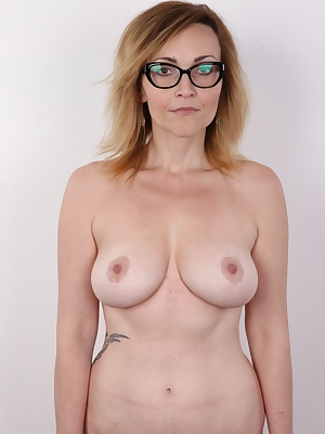 This casting went really well. The main star is a very unusual girl... Well, a mature woman. Marketa, a single mother of two, is a woman of loose morals. She was diagnosed with extreme exhibitionism and chronic need to fuck. Men are attracted to her as mo