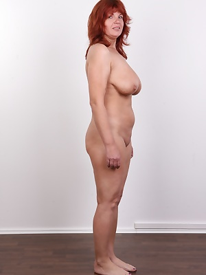 Are you looking for company for tonight? We have a great idea for you. Invite Zuzana to your place, the star of today's casting made in our ateliers. I'm sure you won't regret. She's 43 years old redhead from the North and her tits are really first class!