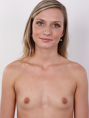 All the tit lovers, watch out!!!! This hot blonde is not for you, because she needs no bra for her life. But that doesn't reduces her attractiveness a bit. She's amazing! She could win American super model without even trying. Tall, hot, with perfect body