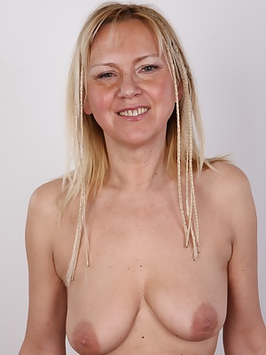 Guys, do you like mature and experienced women? Do you like slim blondes? In that case you will love this episode of the best casting ever. It will be an exclusive show  the start of this video, 52 years old Jaroslava (or Ava, as everybody calls her) is v