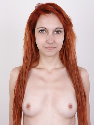 Lovely and passionate. Fiery redhead Daniela is an experienced photo model. No wonder, she's extremely interesting and hot piece of a woman. Slim, photogenic and especially her long legs are amazing. They drive men crazy. She told us she had a boyfriend a