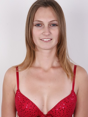 Here's the brand new episode of the biggest casting in the world. Welcome! Czech Casting will never let you down, you can bet on that! The star of the casting today, Iveta, at first didn't seem really interesting. She's a pretty girl, but quite ordinary.