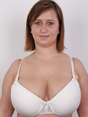 This is a message for lovers or huge jugs, for those who fancy great tits, for big hooters admirers!!! Today is your day. CZECH CASTING has big boobs party! The main reason to celebrate is 23 years old Tereza from Prague. Guy, her tits are unbelievable. G
