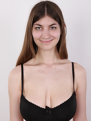 Lenka is a normal fashion model with abnormal rack. Normally you don't see an underwear model with C cups tits. Lenka is the exception we've been waiting for so long. She never did more that artistic acts, but I've got the feeling that's about to change v