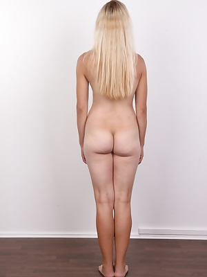 Well-kept blonde called Anezka came to us, as many others, because she couldn't find a job and needed to earn at least some money. At first she wanted to be a fashion model, but after a few attempts she realized it would be much easier in erotica... And h