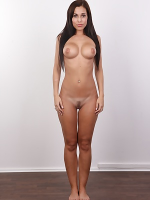 Czech name and Spanish temperament, that's Lucie. One of her parents came from Spain and brought all the good things from the South. Lucie has chocolate skin, perfect slim body with amazing tits. There's just no way you could not fall in love with her...
