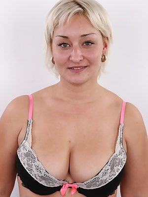 Dear friends, today it's our pleasure to introduce you Vanda, a 34 years old woman from Prague. Vanda's marriage doesn't work properly, in fact it's ruined and she decided to solve her sexual frustration in porn. You will notice the lust and hunger in her
