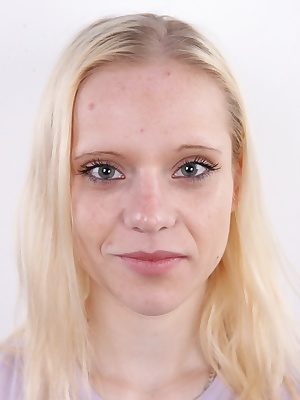 Karolina, today's heroine of your favorite CzechCasting series, is without a doubt a very interesting young lady. Even though she doesn't look like it at first sight, she's a smart twenty one year old girl who knows what she wants and follows in that dire