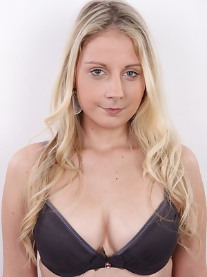 Ulrika is a happy young girl that just loves to laugh and have a good time. When she got naked, our cameraman almost lost his wits. Her body has some beautiful curves and her pussy is so cute and sweet it's unbelievable! And all that combined with her smi