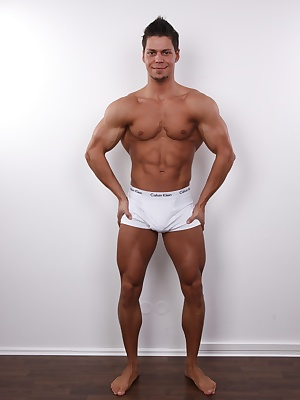 Now this is a body we are proud to present to our fans! Pavel has an older girlfriend that supports his porn career and likes the fact he's so good and popular at what he does. His favourite fetishes are pissing and feet, and he's working hard on discover