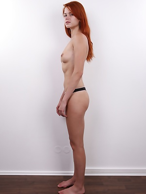Kamila is a rare find! Not only is she a luscious little redhead, but she's also smart, shiny and likeable all the way. Her body is elegant and streamlined, her pussy is perfect and her face is so cute it made our staff pause just to make sure all the ...