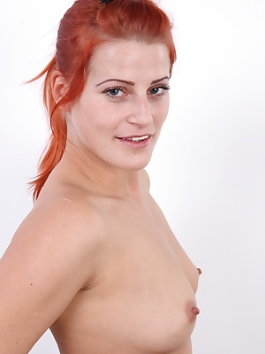 Well this was a surprise! Do you remember this redhead? Of course you do, she's Zuzana, the one in the lead role of the most perverse episode of the most famous czech gangbang ever. Back then, she was right after giving birth, with swollen tits, and reall