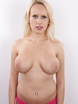 Veronika encountered a lot of problems on her way to the casting. It would be a shame if she decided to cancel her visit, because her tits are awesome! Seeing her all ruffled up and pissed off was an interesting start of a great episode... And though she'