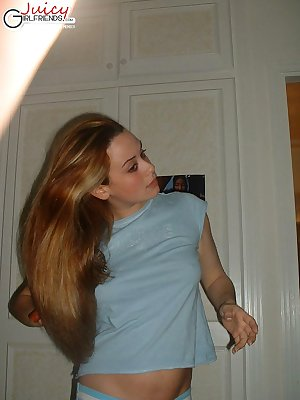 Selfshot try-outs from hot Helen