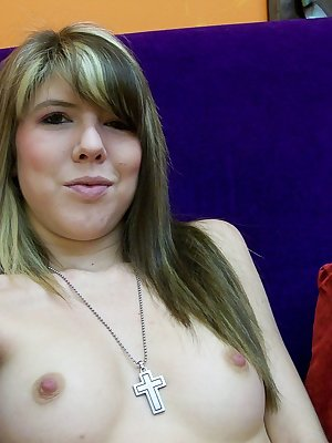 Horny Stacy fingering her cunt