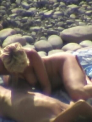 Slim blonde is more than happy to satisfy her man
